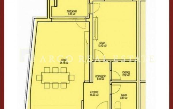 двустаен апартамент софия y4f3k723