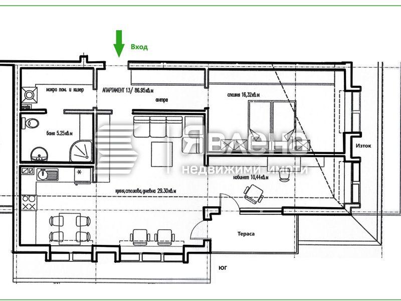 двустаен апартамент ямбол y9snk2l2