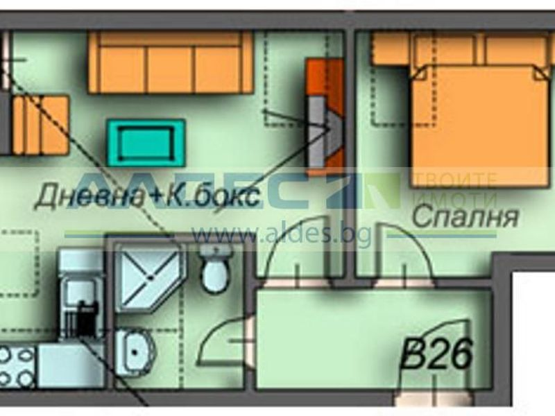 едностаен апартамент банско 8kppnvsn