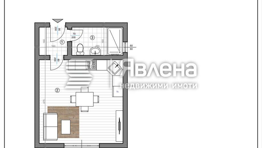 едностаен апартамент езерово 519wea29