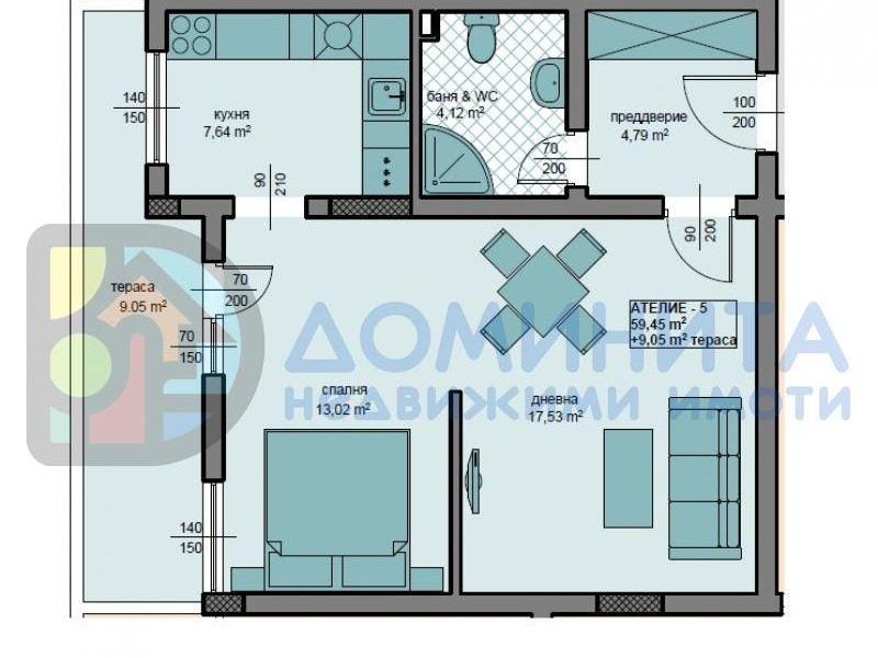 едностаен апартамент приморско cwkauwyn