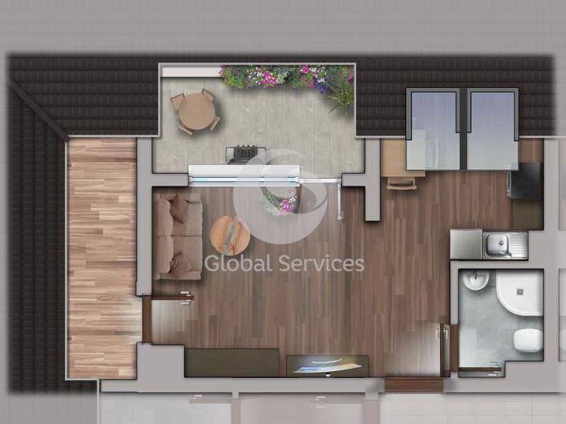 едностаен апартамент софия bks25gxa