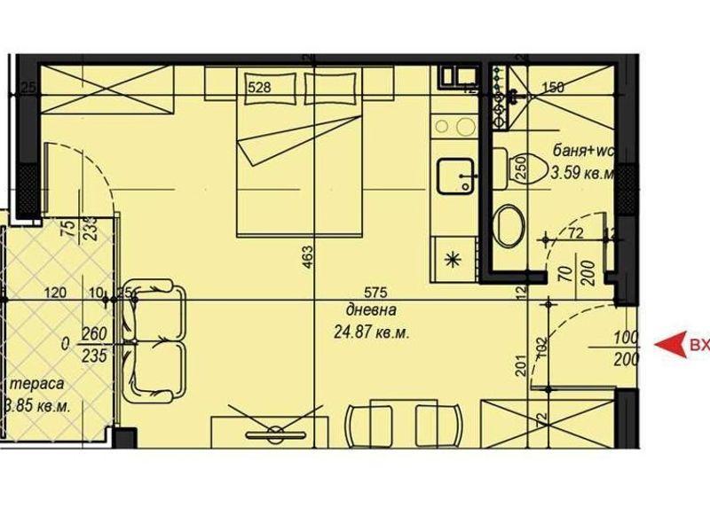едностаен апартамент софия dyxl94ua