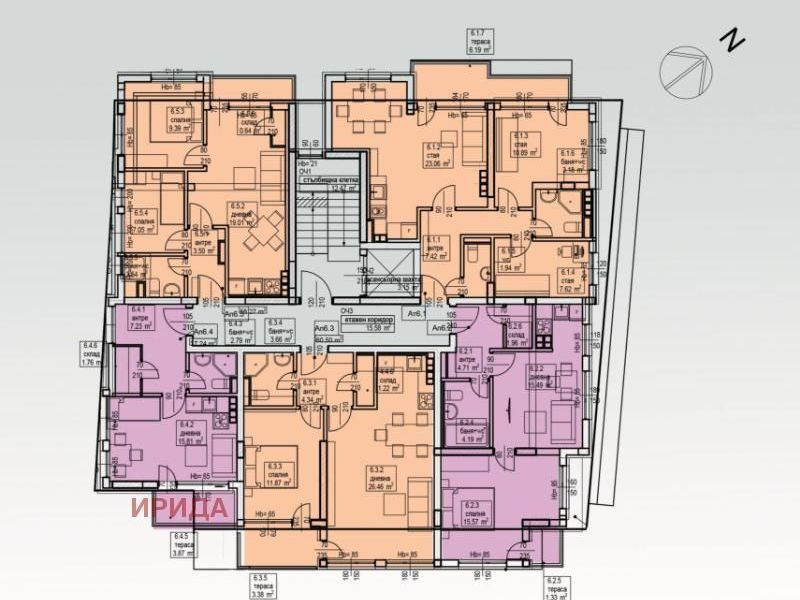 едностаен апартамент софия jt2m54v5