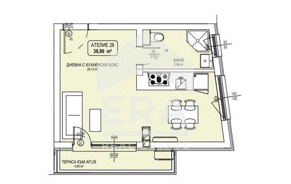 едностаен апартамент софия k6f4s9qd