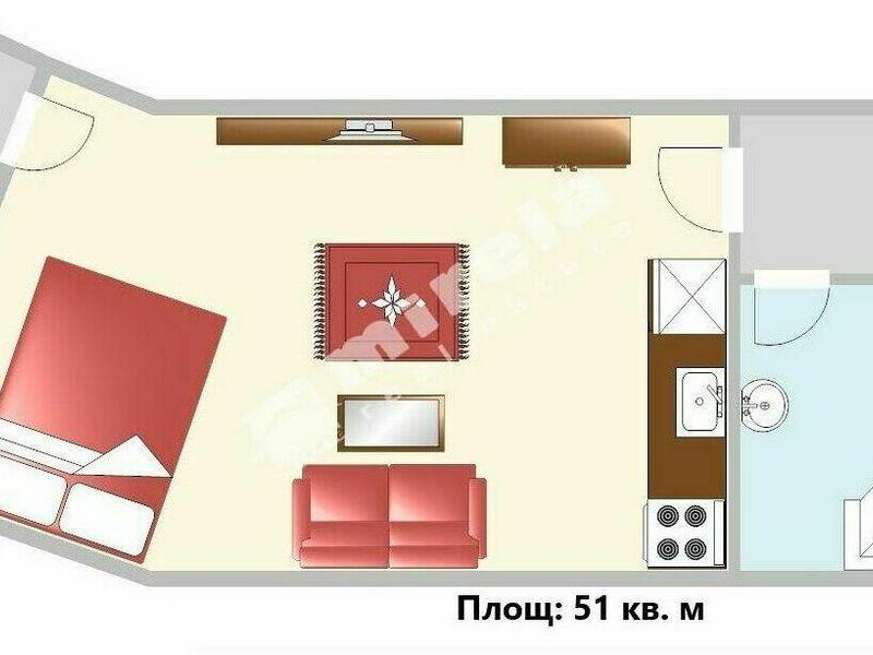 едностаен апартамент софия mv262fkb
