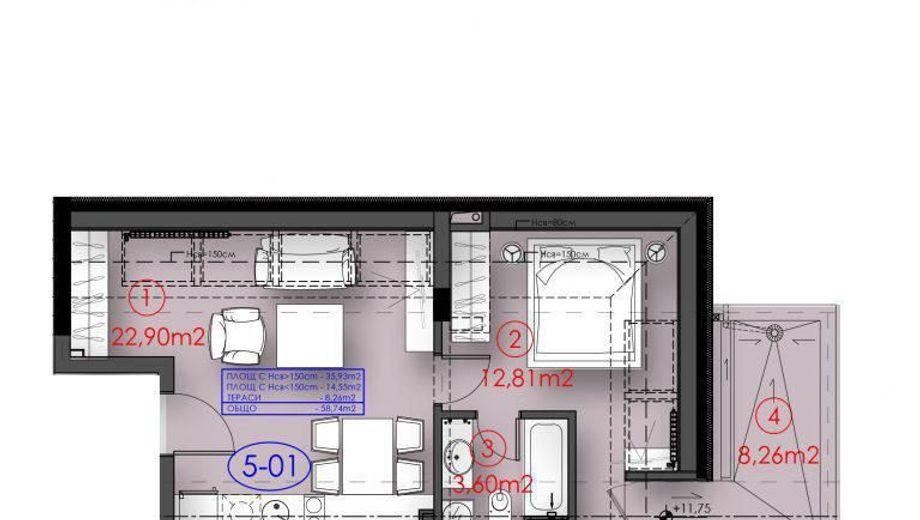 едностаен апартамент софия qpyt9t91