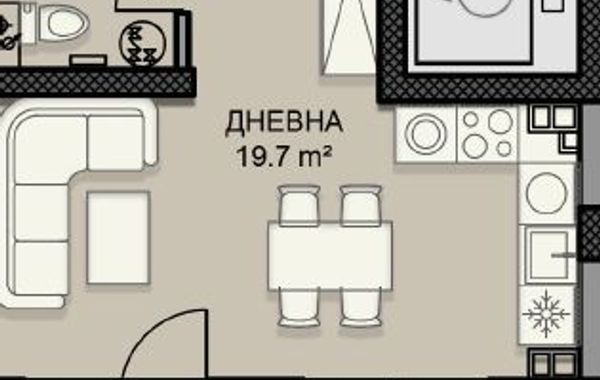 едностаен апартамент софия uelf8837