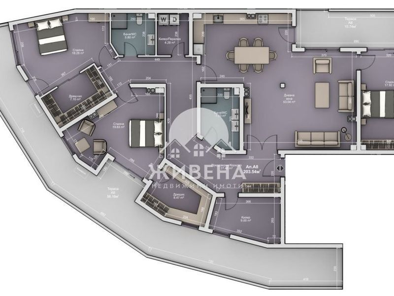 многостаен апартамент варна e3amam2m