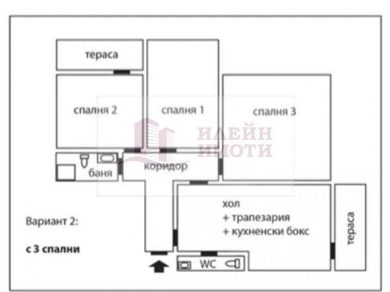 многостаен апартамент русе yep3mscw