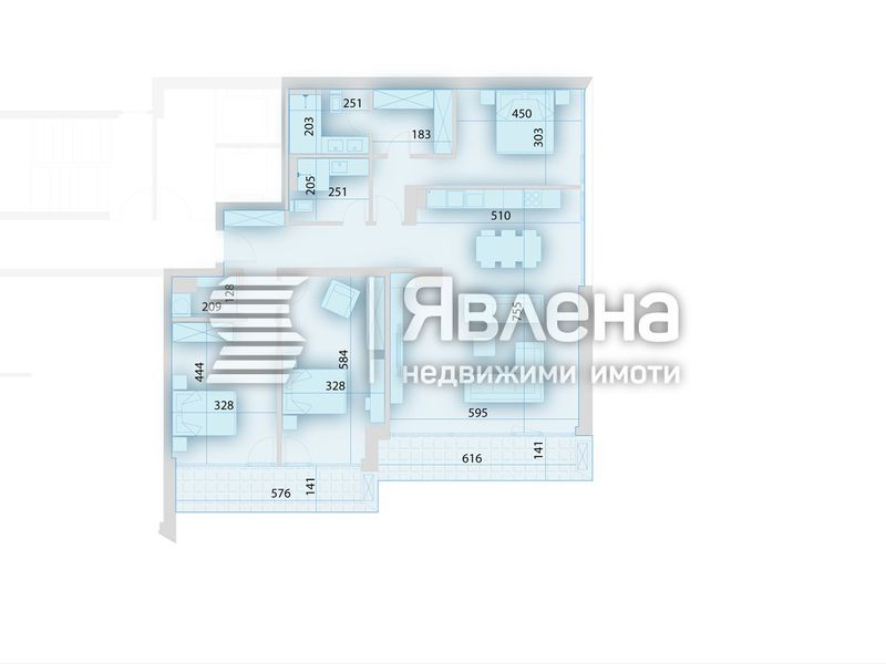 многостаен апартамент софия 47y814ty