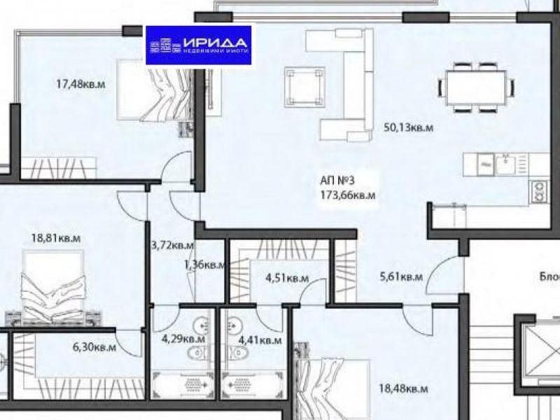 многостаен апартамент софия a965byqa