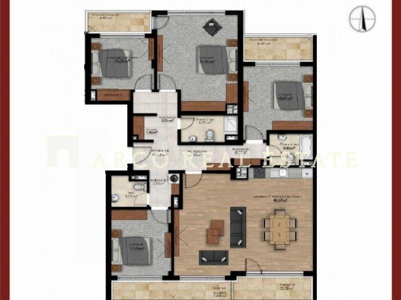 многостаен апартамент софия f34bl62m