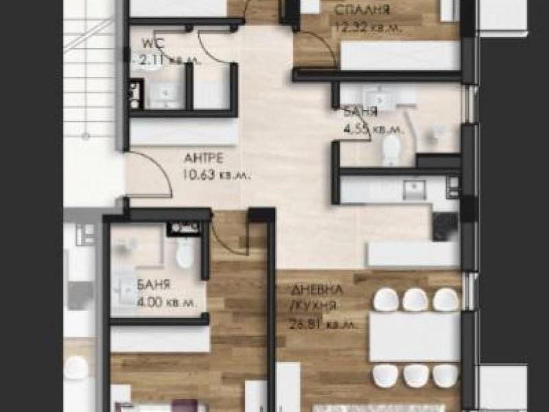 многостаен апартамент софия f9989vw2