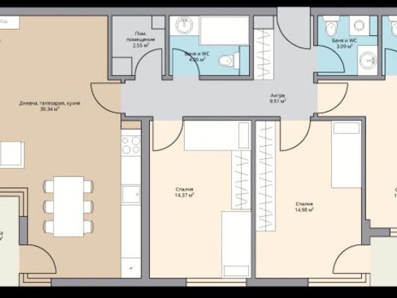 многостаен апартамент софия raqcw5u7