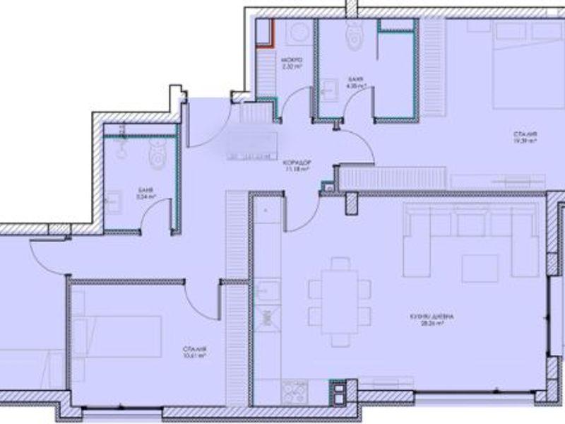 многостаен апартамент софия tdd184ly