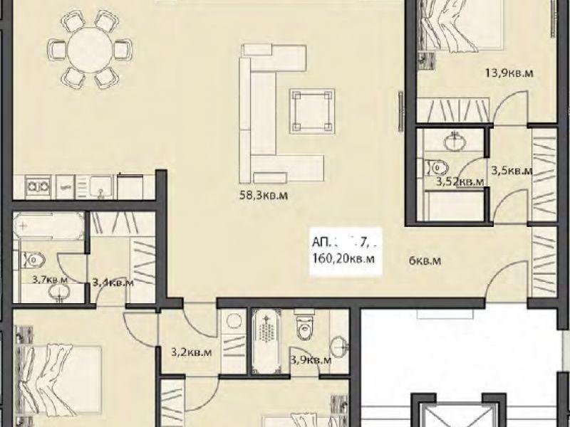 многостаен апартамент софия x3ld558r