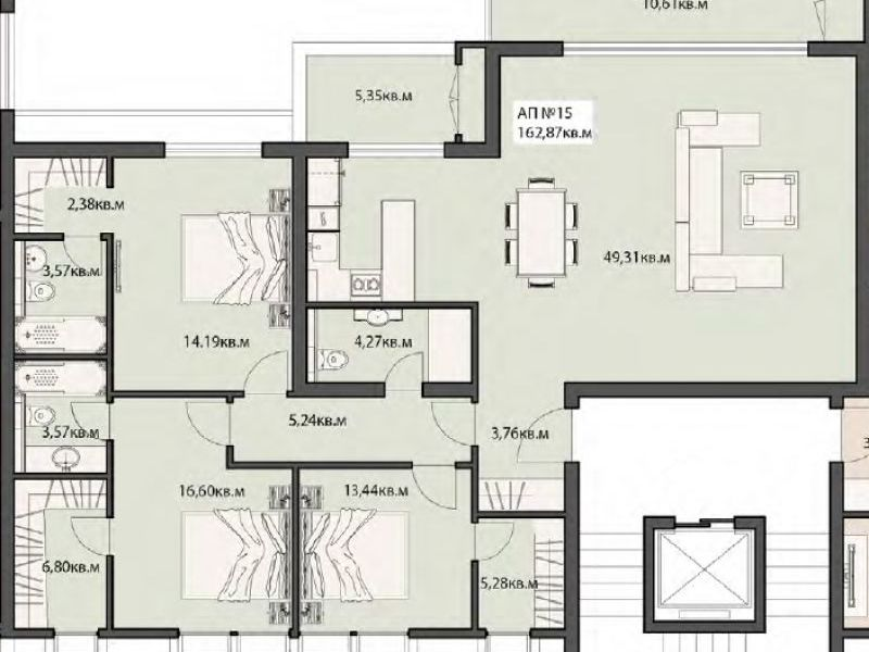 многостаен апартамент софия xu39h643