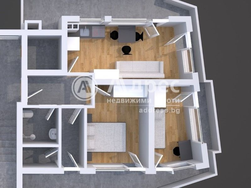тристаен апартамент благоевград w792ygl1