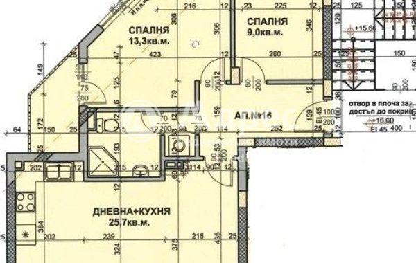 тристаен апартамент бургас 8mph7c16