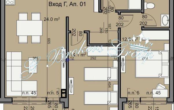 тристаен апартамент бургас xpg4k964