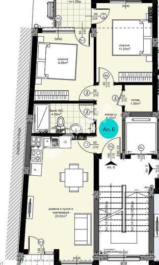 тристаен апартамент варна 11ffeudx