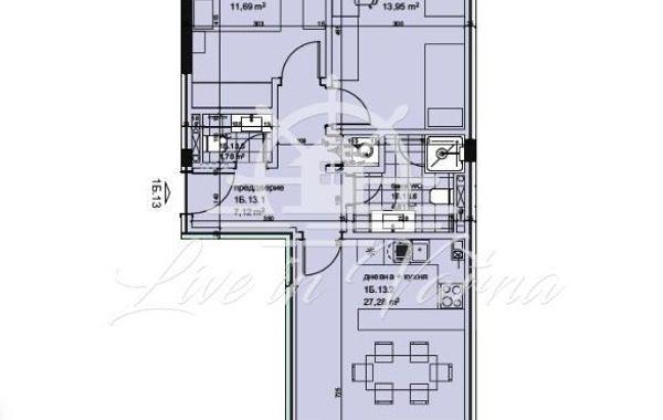тристаен апартамент варна 2ldm2c7b