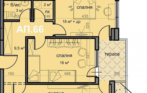 тристаен апартамент варна 37ru63xf