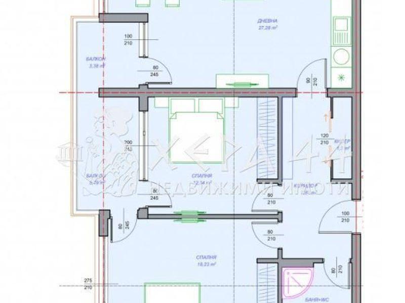 тристаен апартамент варна 3ee53uc1