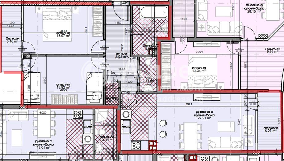 тристаен апартамент варна 3l12kl6g