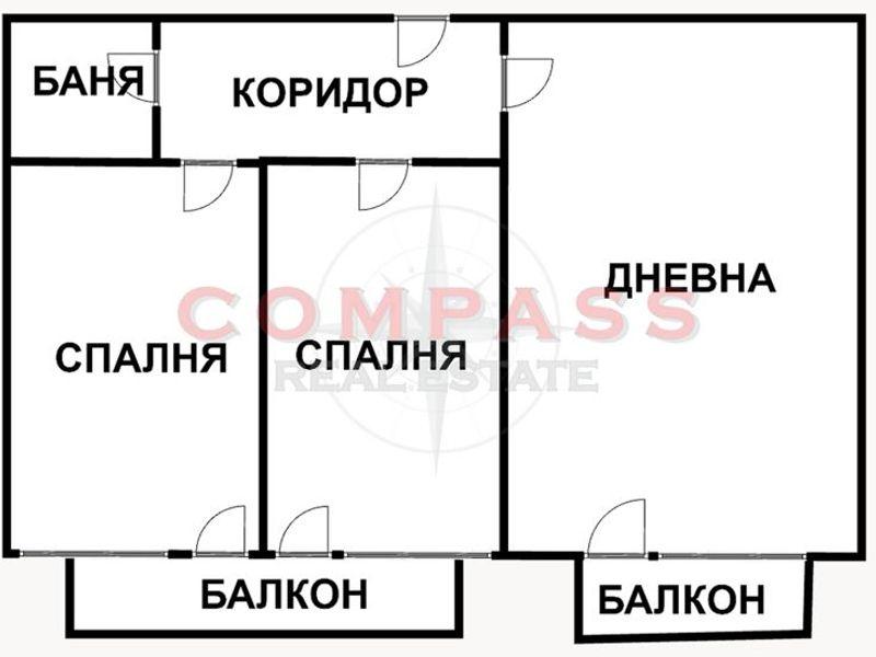 тристаен апартамент варна 4966devb