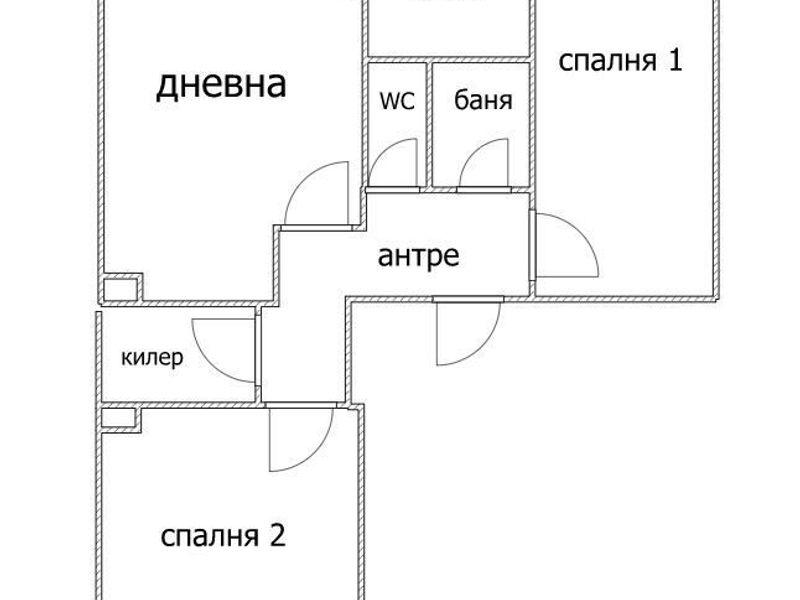 тристаен апартамент варна 4m72fk3j