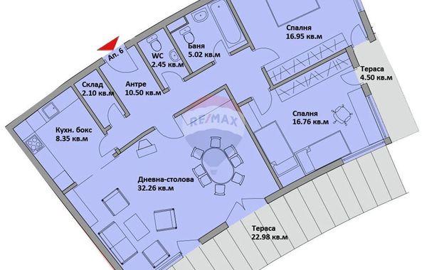 тристаен апартамент варна 5c3mmk7a