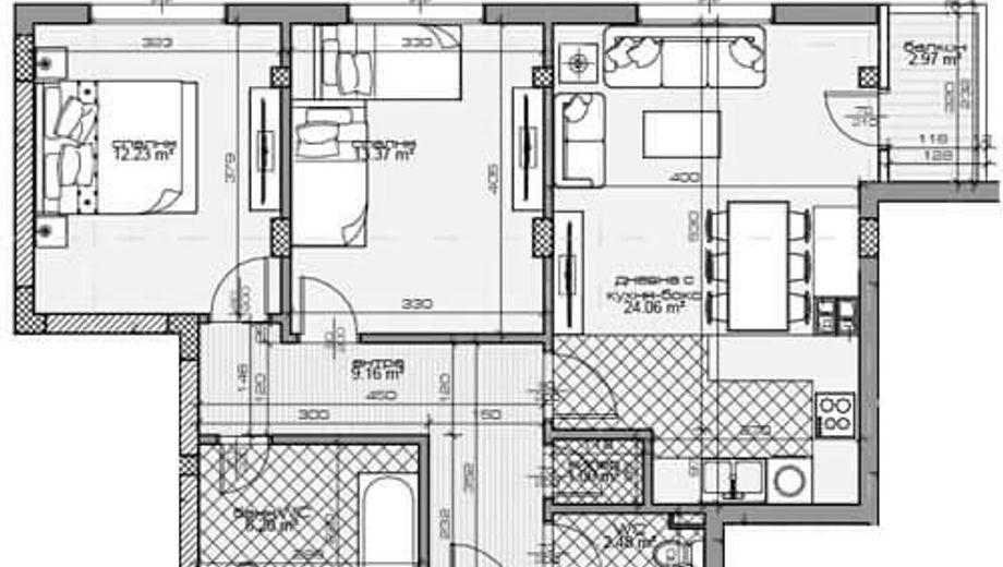 тристаен апартамент варна 5laed2yq