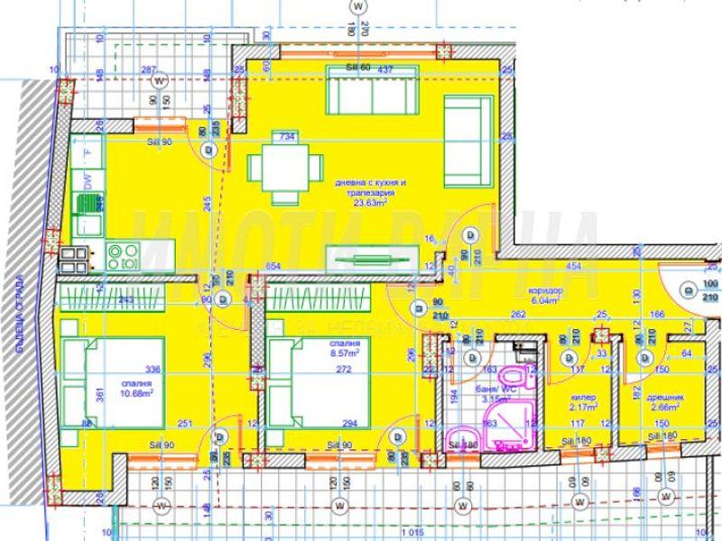 тристаен апартамент варна 67t3j6bs