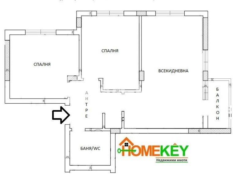 тристаен апартамент варна 7xk46eq8