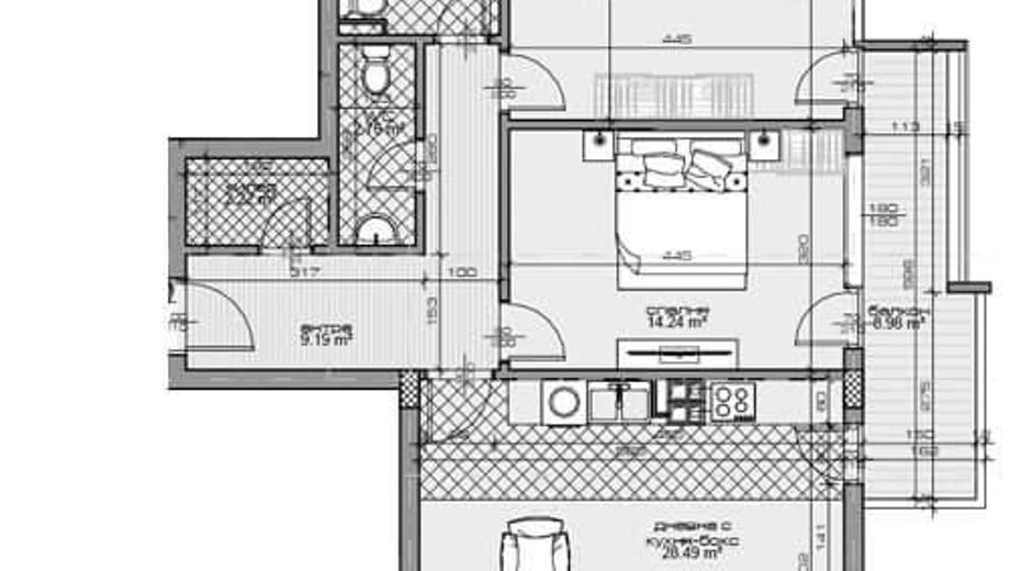 тристаен апартамент варна 95jcxr2l