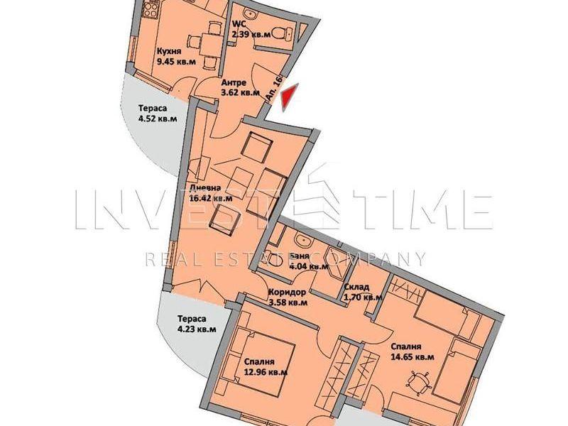 тристаен апартамент варна 96jbdx46