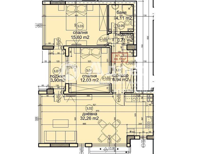 тристаен апартамент варна 9rgt1w41