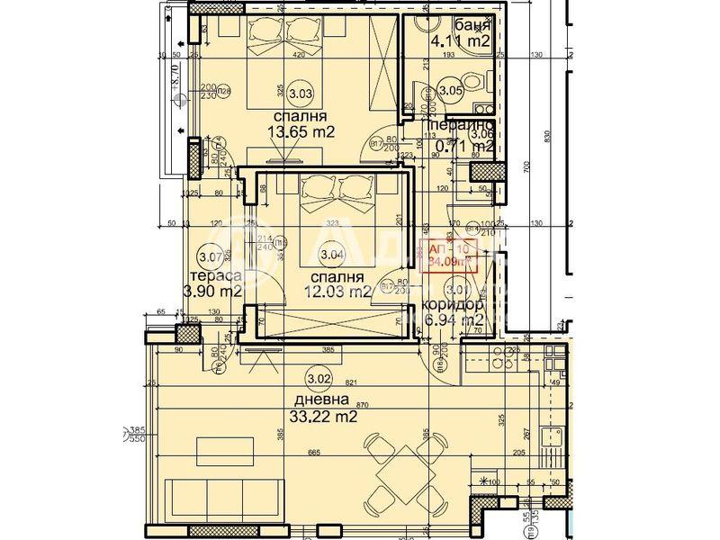 тристаен апартамент варна aw2t7xv1