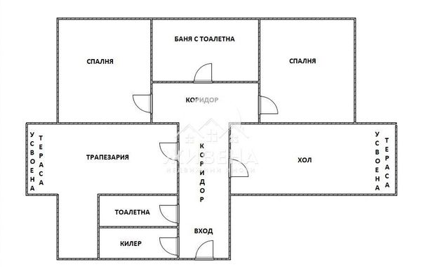тристаен апартамент варна b85wdas4