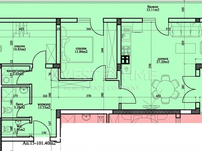 тристаен апартамент варна buw758ra