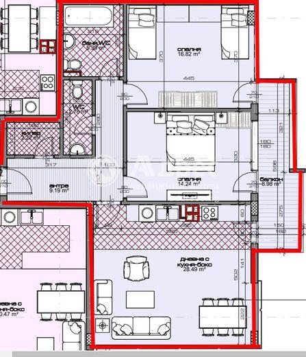 тристаен апартамент варна cggmbvg8