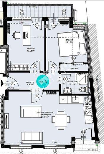 тристаен апартамент варна d7ufgbna