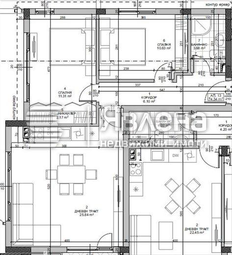 тристаен апартамент варна dk2jex47