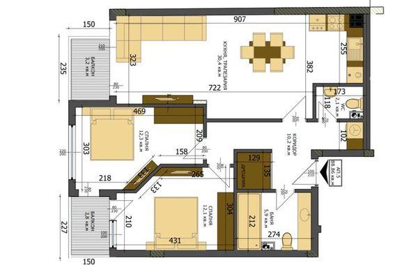 тристаен апартамент варна j5qdb7cc