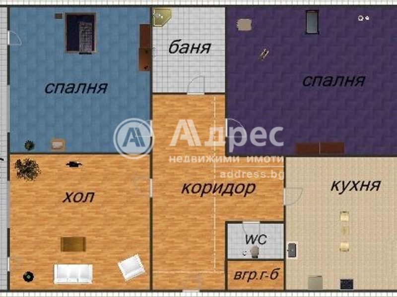 тристаен апартамент варна lpce8bw9
