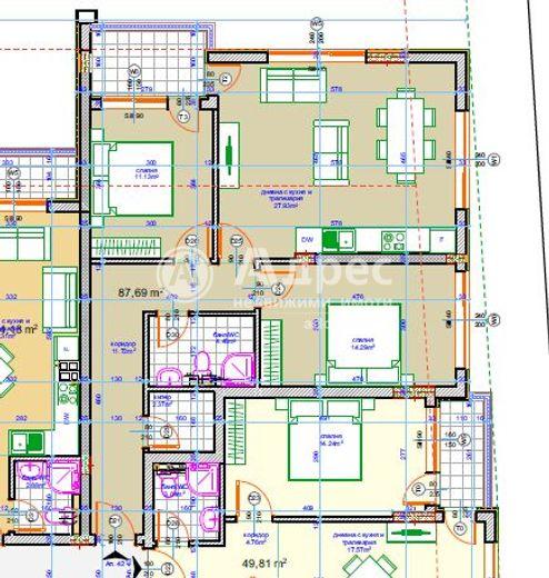 тристаен апартамент варна ma16j7cg