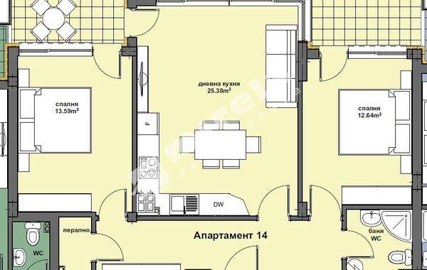 тристаен апартамент варна mkcxw45p