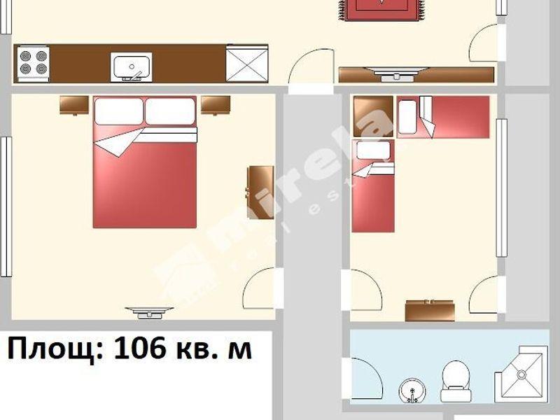 тристаен апартамент варна nt197152